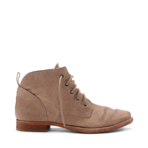 4ab598a71e5ab Sam Edelman Shoes - Sam Edelman  Mare  Lace-Up Ankle Booties in Tan